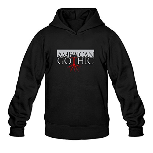mens-american-gothic-hoodies-jacket-pullover-hooded-sweater-black