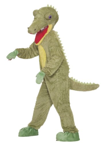 Forum Novelties Men's What A Croc Plush Crocodile Mascot Costume