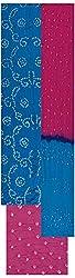 MS Bandhani Women's Cotton Silk Unstitched Dress Material (MSB_31-A, Sky Blue)