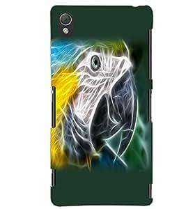 SONY XPERIA Z3 BIRD EYE Back Cover by PRINTSWAG