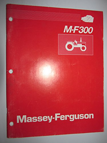 Massey Ferguson Mf 300 Series (360,375,383,390,398,399) Tractor Product Information Sales Manual Original