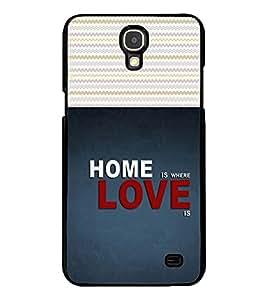 Fuson 2D Printed Quotes Designer back case cover for Samsung Galaxy Mega 2 G750 / G7508 - D4487