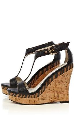 Wild Tribal Wedge Sandal