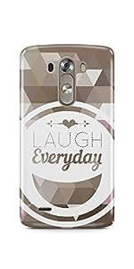 Casenation Laugh Everyday LG G3 Matte Case