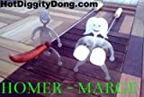 Naughty-Funny Campfire Hot Dog Marshmallow Roasting Sticks