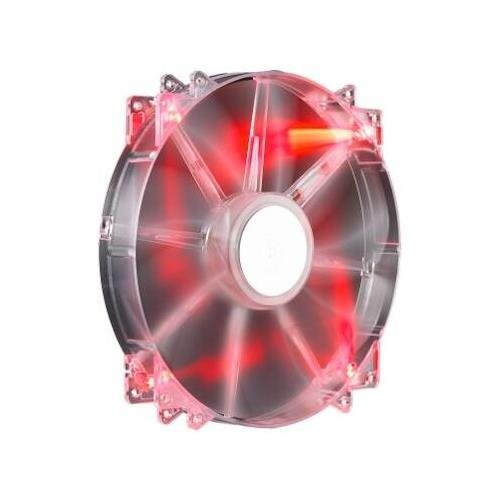 Cooler Master R4-LUS-07AR-GP Megaflow 200 Red LED 200mm PC Computer Cooling Fan (Cooler Master Replacement Fan compare prices)