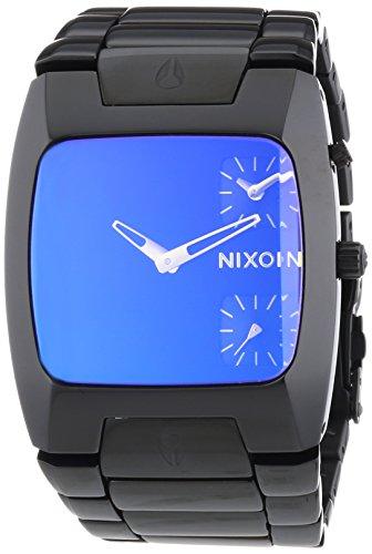 nixon-a0601630-00-montre-homme-quartz-analogique-bracelet-acier-inoxydable-noir