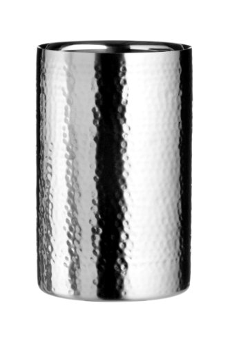 Premier Housewares Wine Cooler, Hammered Stainless Steel