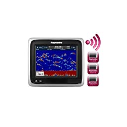 Raymarine a67 Combo 5.7 MFD Touchscreen Display w/Wi-Fi - Lighthouse Navigation Charts - NOAA Vector