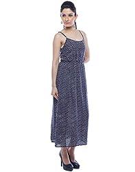 Designeez Blue Maxi Dress