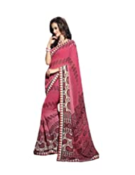 Triveni Paisley Printed Lace Bordered Fancy Saree 62005b