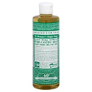 Dr. Bronner's Organic Pure Castile Liquid Soap - Almond Oil - 16 oz