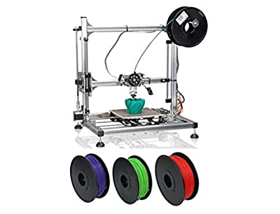 Velleman K8200 3D Printer Kit Plus 3 Spools of Premium MatterHackers PLA Filament (Choose Any 3 Colors)!