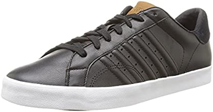 K-Swiss Belmont, Baskets mode homme - Noir (115 Black/White), 44 EU
