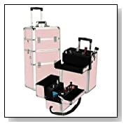 Pink Gator Professional Rolling Makeup Case Style No. TS-01 PG