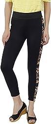 Fashion Stylus Women's Jeggings (FT013_28, Black, 28)