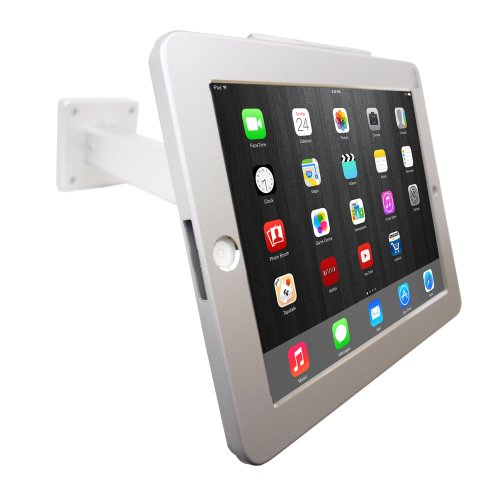 ANGEL POS 1521030 iPad POS Wall Mount Stand or Desktop Stand with Security Lock Projector Accessory