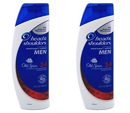Head and Shoulders Shampoo 2-In-1 W/Old Spice (2 Pack) (Head And Shoulders Men compare prices)