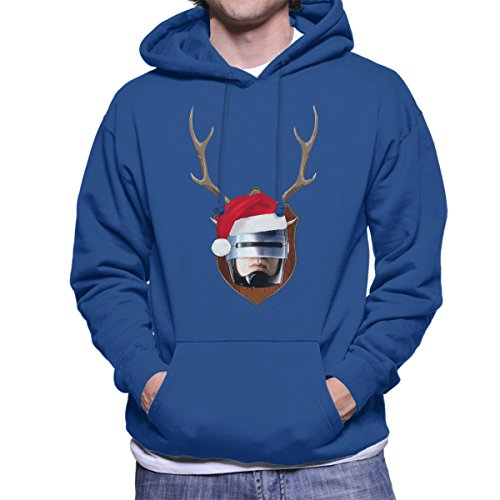 robocop-christmas-antler-head-mens-hooded-sweatshirt