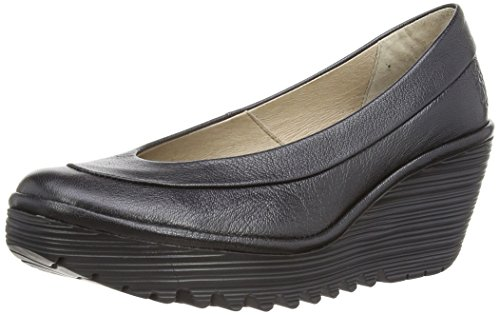 Fly London Yoko Mousse - Court shoes donna - Nero (Nero), 38 EU