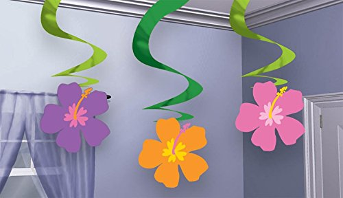 Floral Hanging Decorations- 3ct