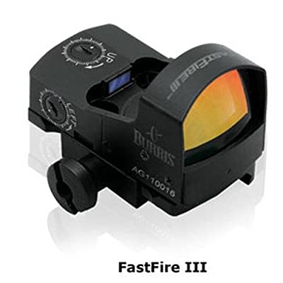 Burris 300234 Fastfire III with Picatinny Mount 3 MOA Sight (Black) from Sportsman Supply Inc.