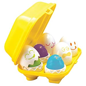 TOMY Little Chirpers Sorting Eggs Learning Toy by TOMY