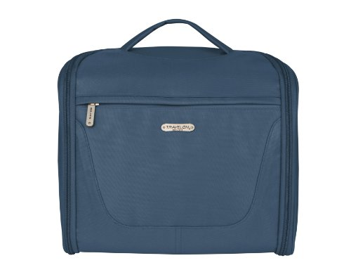 Travelon Unisex Mini Independence Travel Toiletry Bag, Navy