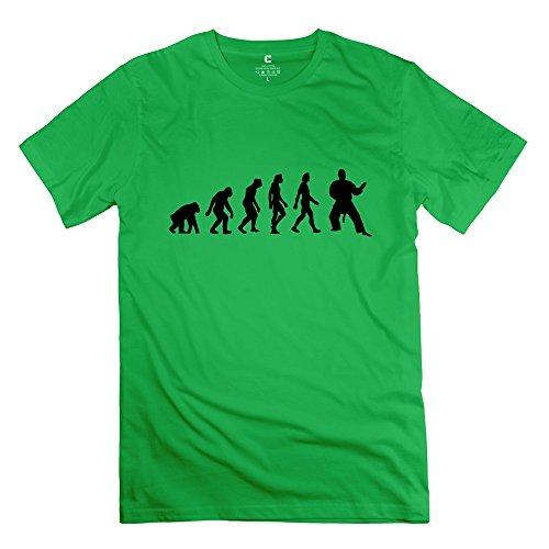 Zhitian Men'S Evolution Judo 1C T-Shirt - Xxl Forestgreen