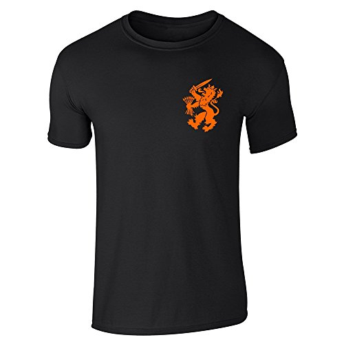 pop-threads-mens-dutch-soccer-retro-national-team-black-l-short-sleeve-t-shirt