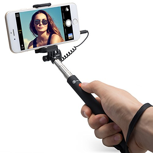 TaoTronics-Telescopic-Monopod-Mini-Selfie-Stick-for-Android-and-iOS-Smartphone-Black