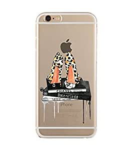 iPhone 6 Case, iPhone 6S Case, Heels and Books Printed Transparent Case iPhone, iPhone Printed Transparent Case, iPhone Printed TPU Case, Heels with Books Printed Case iPhone, iPhone So Good Printed Transparent Case