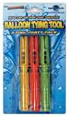 Water Sports Llc 82005 Water Balloon Tying Tool 3-Pack
