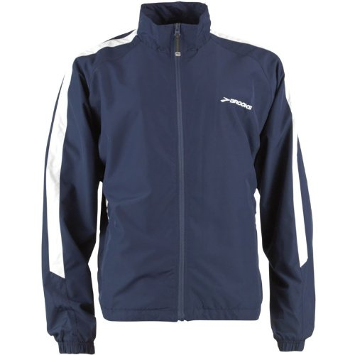 Brooks Mens Team Podium Europe Running Jacket Navy