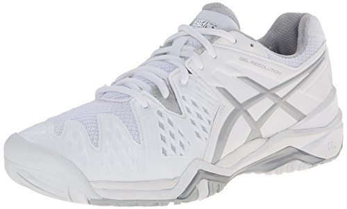 ASICS Women's GEL-Resolution® 6 White/Silver 8 B - Medium