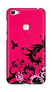 Amez designer printed 3d premium high quality back case cover for Vivo X6 (Abstract Colorful 14)