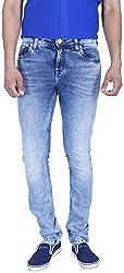 INTEGRITI Men'S Slim Fit Jeans (Rise-Kj-103.S Lnft Stn_36, Blue, 36)