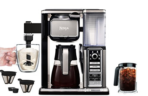 Ninja Single Serve Coffee Bar System With Thermal Flavor Extraction Technology And Signature Brew Settings - Built-In Frother - Bones 2 Cone #4 Coffee Filters