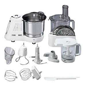 Braun k3000 multiquick 7 food processor colore bianco for Robot cuisine braun