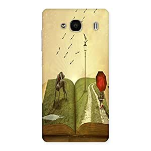 Unicovers Amazing Book Back Case Cover for Redmi 2