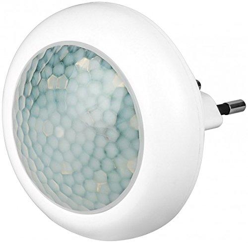 GOOBAY ICLLE002 - Luce Notturna LED Rotonda con Sensore di Movimento ad Infrarossi, A++