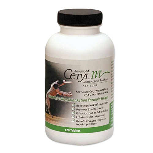 Advanced Cetyl M Joint Action Formula for Dogs - 120 tablets