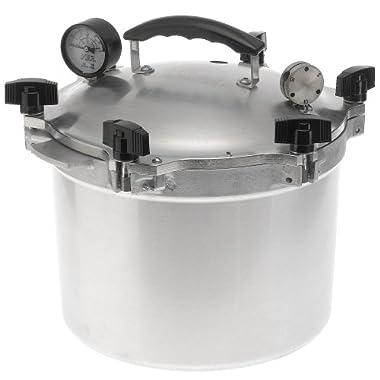 All American 10.5-qt. Cast Aluminum Pressure Cooker (# 910)