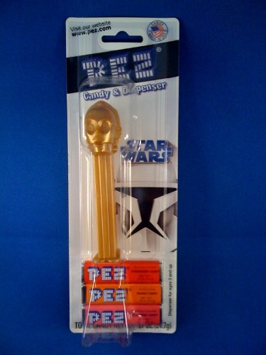 Star Wars 2009 Clone Wars C-3PO PEZ Dispenser