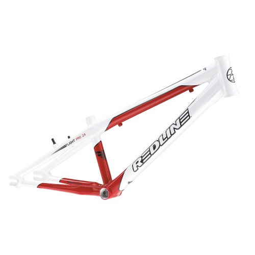 Redline 2012 Flight R6 Pro Cruiser 24 Frame - White/Red