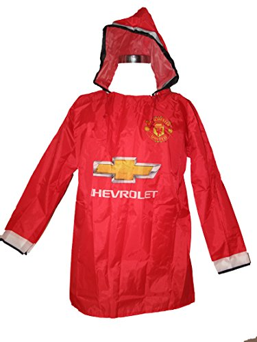 manchester-united-waterproof-rain-poncho-red