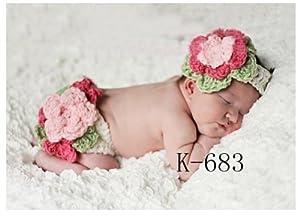 Amazon.com: Newborn Photography Props Baby Crochet Beanie