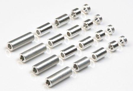 Tamiya < 15.473 &gt; Spacer-set (12/6.7/6/3/1.5mm) [Grad Teile Serie No.473]