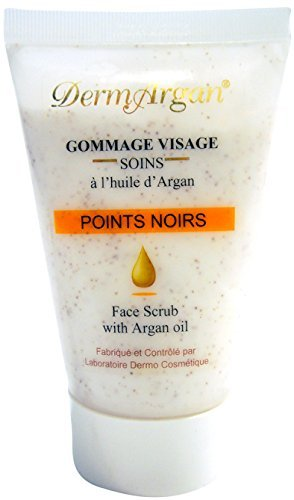 dermargan gommage exfoliant visage points noirs base d 39 huile d 39 argan 11 82. Black Bedroom Furniture Sets. Home Design Ideas