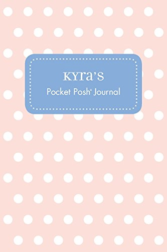 Kyra's Pocket Posh Journal, Polka Dot